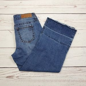 Seven7 Cropped Jeans Size 4 | Gaucho Style